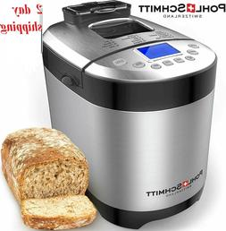 17-in-1 Stainless Steel Automatic Bread Maker Machine 2 LB,1
