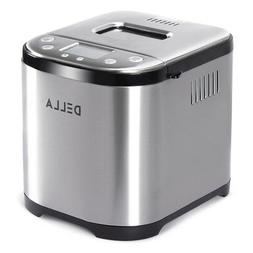 2 lb automatic bread maker stainless steel