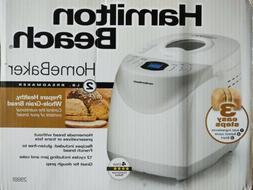 Hamilton Beach 2 lb Digital Bread Maker Model# 29881 FAST SH