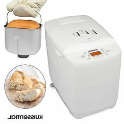 Kuissential 2-Pound Programmable Bread Machine w/ Auto Fruit