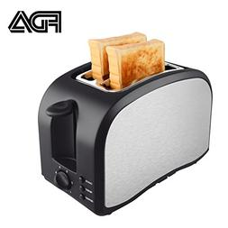 2 Slice Toaster Wide Slot Compact Brushed Stainless Steel Sl