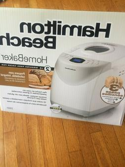 Hamilton Beach 29881 Digital Bread Machine, White - 2lbs Get