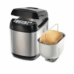 Hamilton Beach  Bread Maker, 2 Lbs. Capacity, Stainless Stee