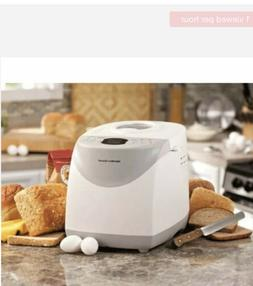 Hamilton Beach 2lb Digital Programmable Bread Machine Maker.