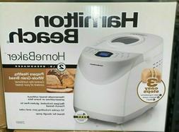 NEW Hamilton Beach 2lb Digital Bread Maker, Model HomeBaker