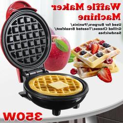 350W Bread Maker Machine Individual Breakfast Paninis Hash N