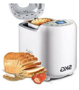 SKG 3920 Automatic Bread Machine with Recipes Multifunctiona