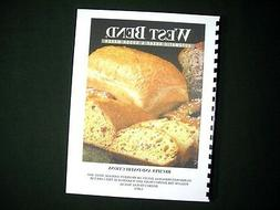 West Bend 41080 41080R Bread Maker Machine Instruction Manua