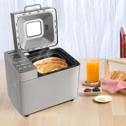 550W Stainless Steel 2LB Bread Machine Automatic Bread Maker