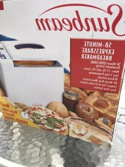 Sunbeam 5833 2lb Bread Maker Machine - White