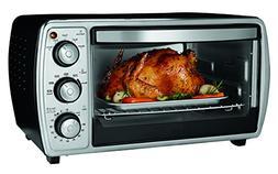 Oster 6-slice Convection Toaster Oven, Black TSSTTVCGBK