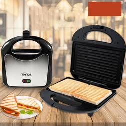 750W Electric Sandwich Maker Mini Grill Toaster Kitchen Brea