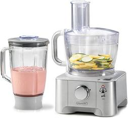 DeLonghi DFP950 Die-cast 3-in-1 Food Processor,Blender, Scal