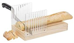 Mrs. Anderson's Baking Bread Cutter Slicing Guide with Crumb