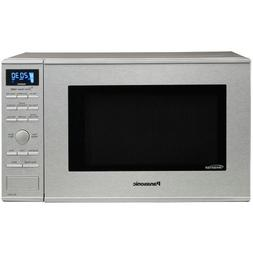 Panasonic - 1.2 Cu. Ft. Mid-size Microwave - Stainless Steel