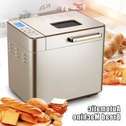 Auto Bread Machine 25-in-1 Home Bread Maker w/ Nonstick For