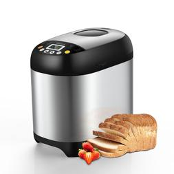 Automatic 19-in-1 Bread Maker Machine,3 Loaf Sizes&3 Crust C