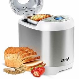 SKG Automatic Bread Machine 19Programs,3Loaf Sizes,3Crust Co