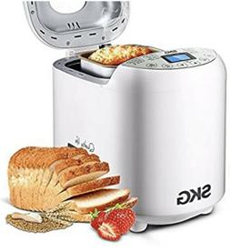 Automatic Bread Machine SKG Model 3920 2 Lb. 550W - White