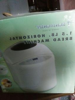 Toastmaster Automatic Bread Maker Machine TBR15 White Digita