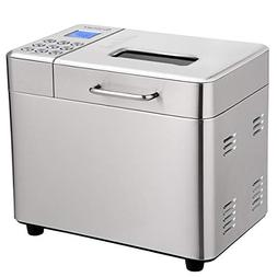 automatic bread maker stainless steel