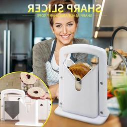 Bagel Slicer Guillotine Bread Cutter Machine For Home Kitche