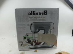 Breville the Bakery Chef Silver 5 Quart Stand Mixer BEM825BA