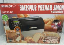 Zojirushi BB-CEC20 Home Bakery Supreme 2-Pound-Loaf Breadmak
