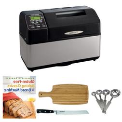 Zojirushi BB-CEC20 Home Bakery Supreme Breadmaker and Access