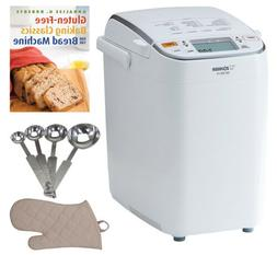 Zojirushi Home Bakery Maestro Breadmaker with Baking Book an