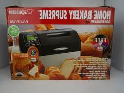 Zojirushi BBCEC20BA 2-Pound-Loaf Bread Machine