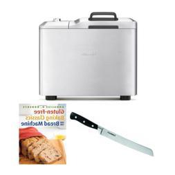 Breville BBM800XL Custom Loaf Bread Maker with Cookbook and