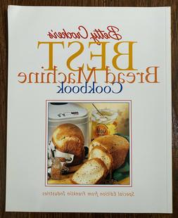 Betty Crocker's Best Bread Machine Cookbook by Betty Crocker