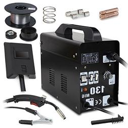 Super Deal PRO Commercial MIG 130 AC Flux Core Wire Automati