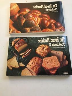 Bread Machine Cookbooks Volumes 1 & 2
