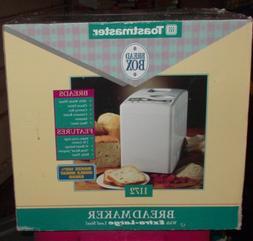 "Toastmaster Bread Machine Maker ""The Bread Box"" 1172"