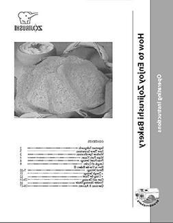Zojirushi Bread Machine Maker Instruction Manual & Recipes