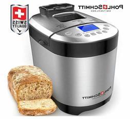 Pohl+Schmitt Bread Machine Maker w/ Digital Display and Dish