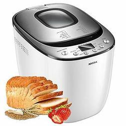 Bread Maker,  2LB Automatic Bread Machine With Gluten Free S