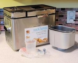 Cuisinart Bread Maker Convection Stainless Programmable 2LB