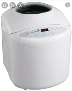 Bread Maker Machine Automatic Toastmaster TBR15 White Digita