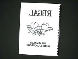 Regal Bread Maker Machine Directions Instruction Manuals w/