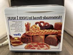 Oster Bread Maker Machine Model # 5834 Expressbake 2 Lb TEST