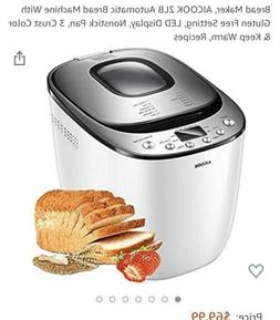 Aicok bread maker machine new
