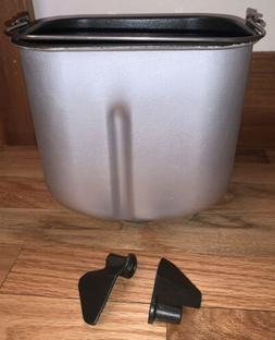 bread maker machine pan and paddles model