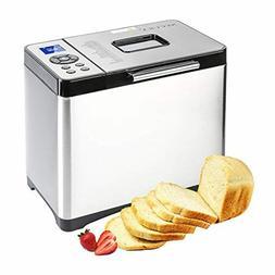 Bread Maker Machine, Programmable Home Bakery, Pizza, Cake,
