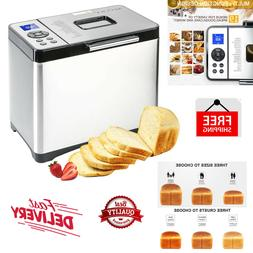 Bread Maker Machine Stainless Steel Toaster Multi Use Home B