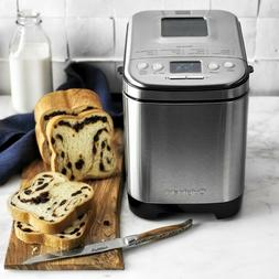 Cuisinart Bread Maker,Up To 2lb Loaf,Compact Small Footprint