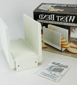 #West Bend Bread Slicing Slicer Guide Folding 6660x Homemade