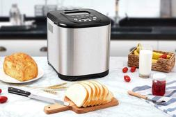 Aicok Breadmaker, 650W Machine Pan for Make 15H Timer 15 Pro